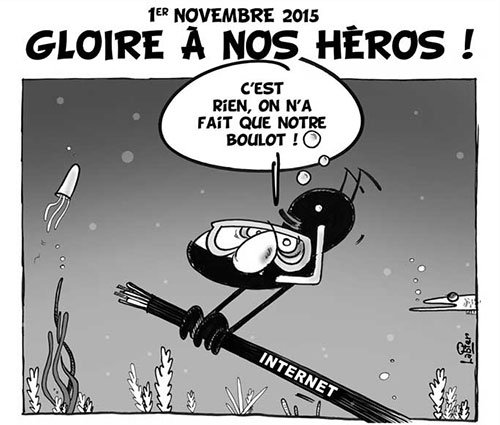1er novembre 2015: Gloire à nos héros - Vitamine - Le Soir d'Algérie - Gagdz.com