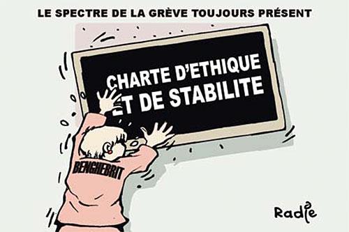 Le spectre de la grève toujours présent - Ghir Hak - Les Débats - Gagdz.com