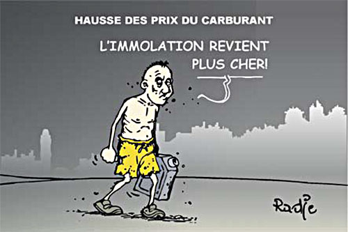 Hausse des prix du carburant - Ghir Hak - Les Débats - Gagdz.com