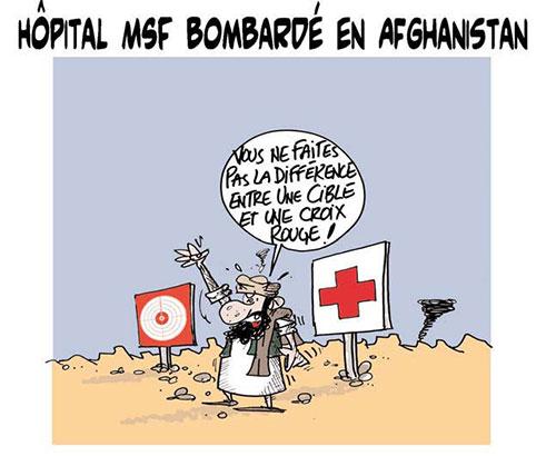 Hôpital MSF bombardé en Afghanistan - Lounis Le jour d'Algérie - Gagdz.com