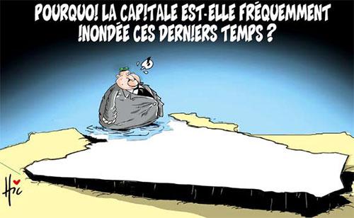 Pourquoi la capitale est-elle fréquemment inondée ces derniers temps ? - Le Hic - El Watan - Gagdz.com