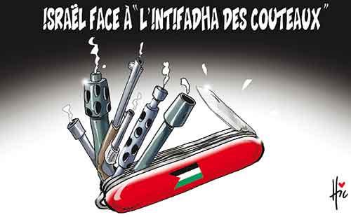 Israël face à l'intifadha des couteaux - Le Hic - El Watan - Gagdz.com