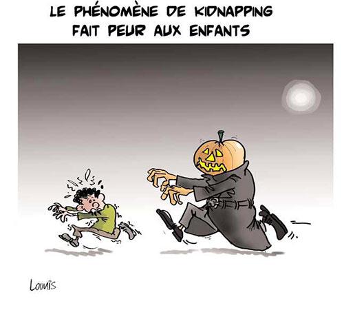 Le phénomène de kidnapping fait peur aux enfants