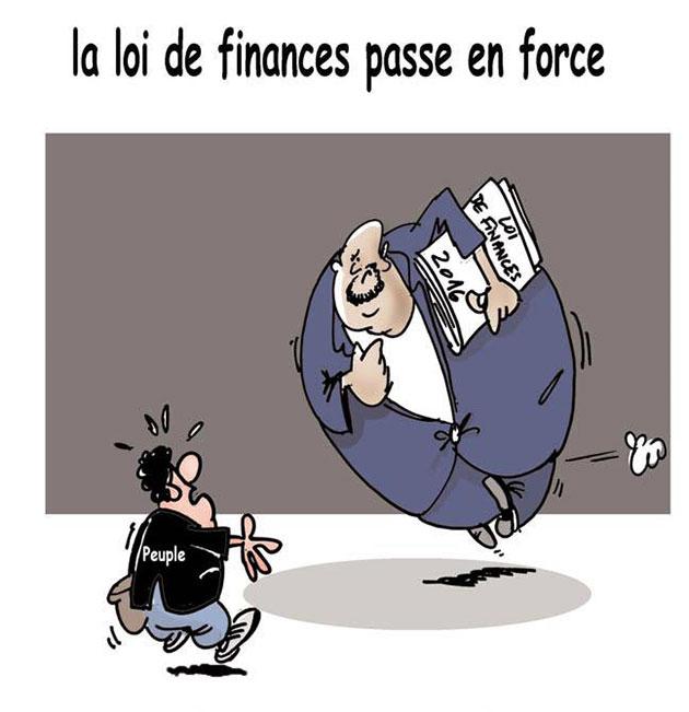 La loi de finances passe en force