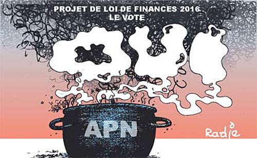 Projet de loi de finances 2016: Le vote - Ghir Hak - Les Débats - Gagdz.com