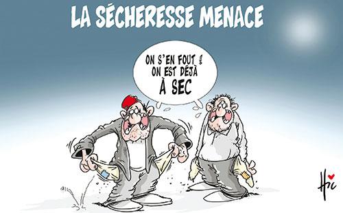 La sécheresse menace - Le Hic - El Watan - Gagdz.com