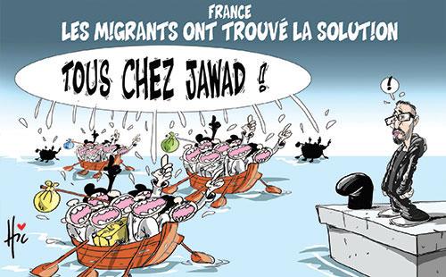 France: Les migrants ont trouvé la solution - Le Hic - El Watan - Gagdz.com