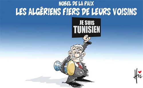 Nobel de la paix: Les Algériens fiers de leurs voisins - Le Hic - El Watan - Gagdz.com
