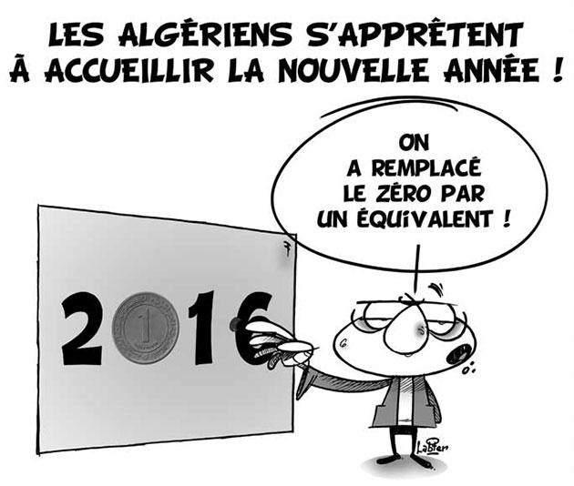 Les Algériens s'apprêtent à accueillir la nouvelle année