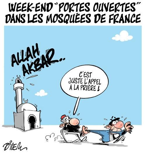 Week-end portes ouvertes dans les mosquées de France