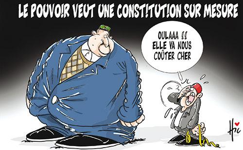 Le pouvoir veut une constitution sur mesure