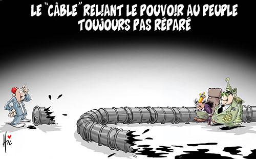 Le câble reliant le pouvoir au peuple toujours pas réparé - Le Hic - El Watan - Gagdz.com