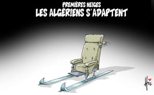 Premières neiges: Les Algériens s'adaptent - Le Hic - El Watan - Gagdz.com