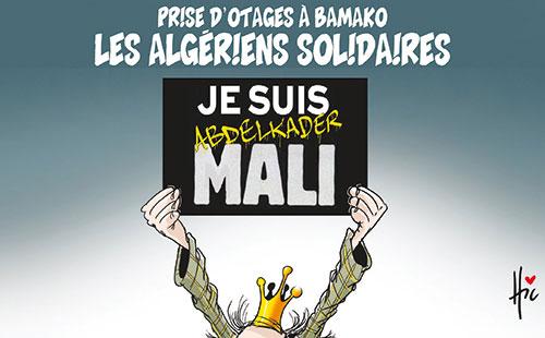 Prise d'otages à Bamako: Les Algériens solidaires - Le Hic - El Watan - Gagdz.com