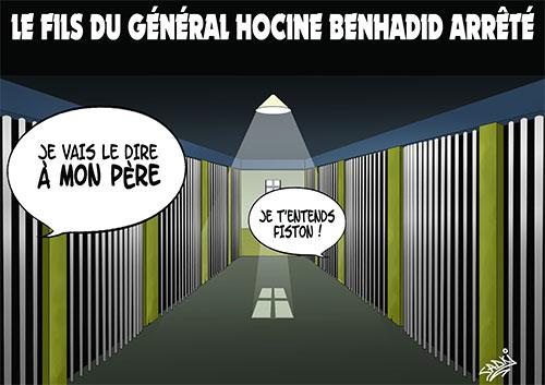 Le fils du général Hocine Benhadid arrêté