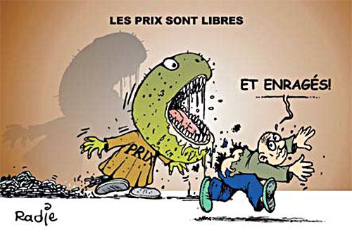 Les prix sont libres - Ghir Hak - Les Débats - Gagdz.com