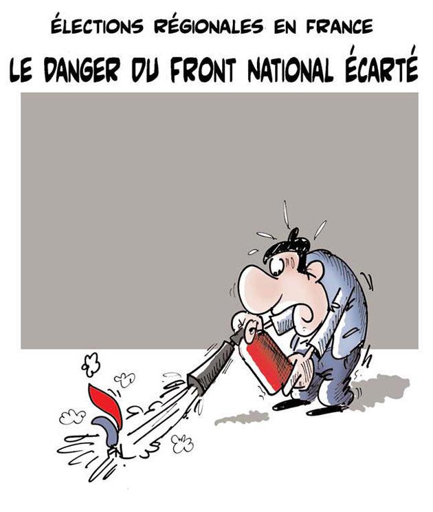 Elections régionales en France: Le danger du front national écarté