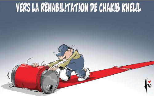 Vers la réhabilitation de Chakib Khelil - Dessins et Caricatures, Ghir Hak - Les Débats - Gagdz.com