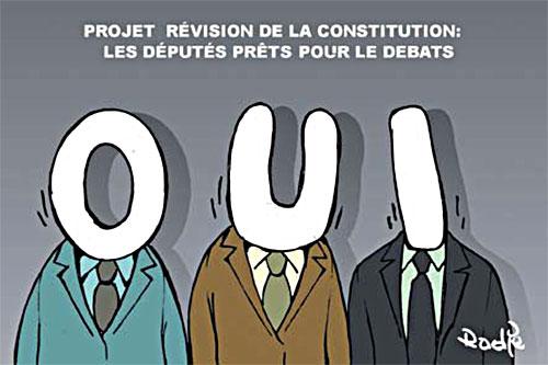 Projet révision de la constitution: Les députés prêts pour le débat - Ghir Hak - Les Débats - Gagdz.com