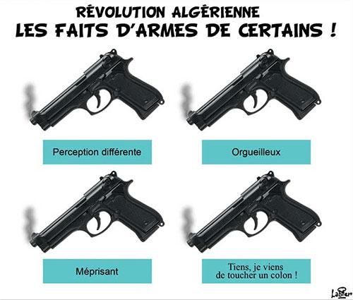 Révolution algérienne: Les faits d'armes de certains - Vitamine - Le Soir d'Algérie - Gagdz.com