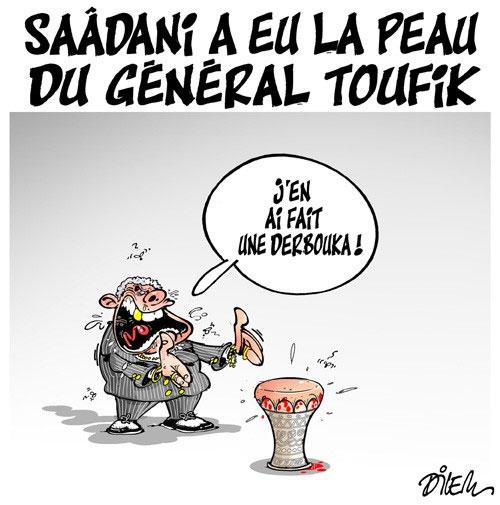 Saâdani a eu la peau du général Toufik