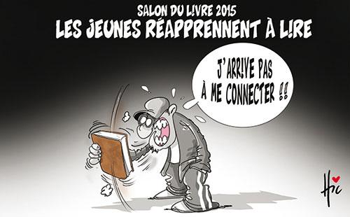 Salon du livre 2015: Les jeunes réapprennet à lire - Le Hic - El Watan - Gagdz.com
