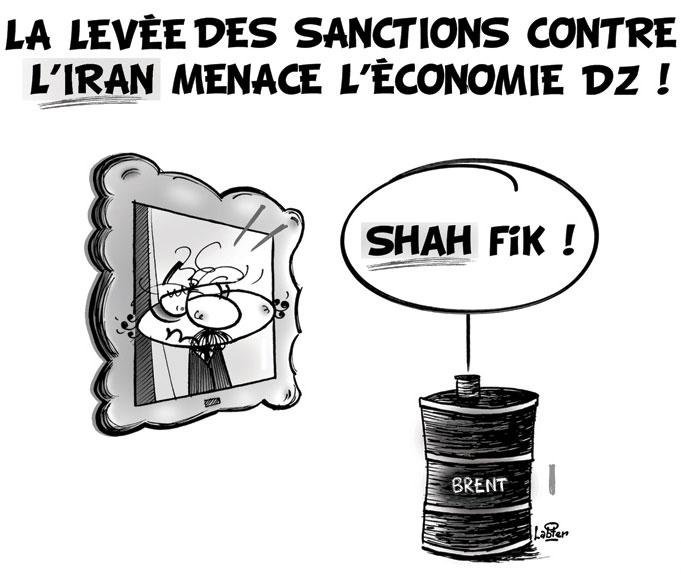 La levée des sanctions contre l'Iran menace l'économie dz