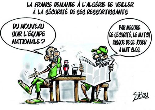 La France demande à l'Algérie de veiller à la sécurité de ses ressortissants - Sidou - Gagdz.com