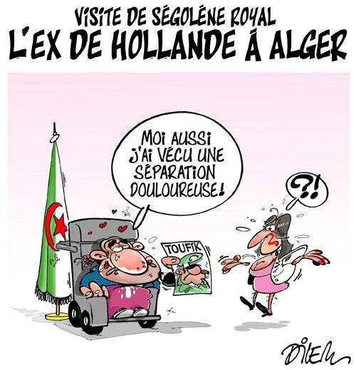 Visite de Ségolène Royal: L'ex de Hollande à Alger