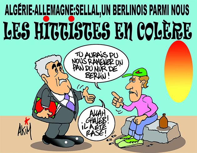 Algérie-Allemagne: Sellal, un berlinois parmi nous – Les hitistes en colère