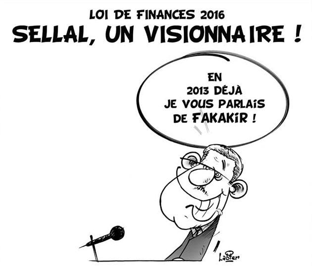 Loi de finances 2016: Sellal, un visionnaire