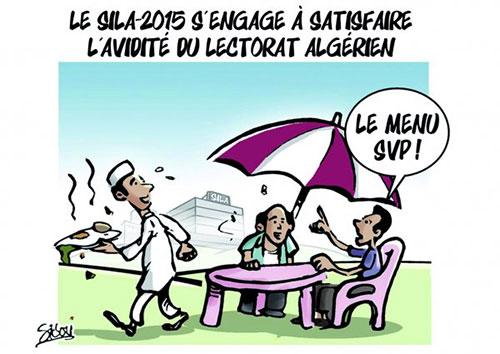 Le sila-2015 s'engage à satisfaire l'avidité du lectorat algérien - Sidou - Gagdz.com