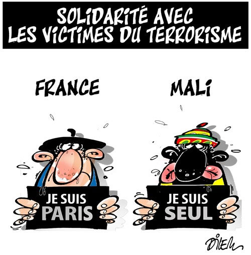 Solidarité avec les victimes du terrorisme