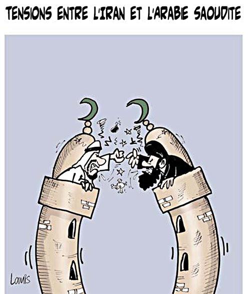 Tensions entre l'Iran et l'Arabie Saoudite