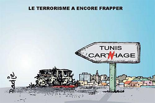 Le terrorisme a encore frappé - Ghir Hak - Les Débats - Gagdz.com