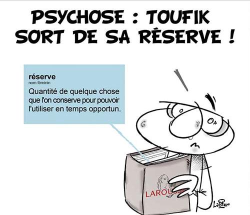 Psychose: Toufik sort de sa réserve - Vitamine - Le Soir d'Algérie - Gagdz.com