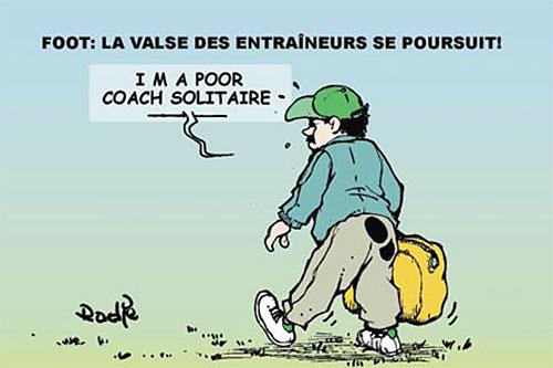 Foot: La valse des entraineurs se poursuit - Ghir Hak - Les Débats - Gagdz.com