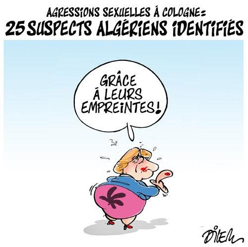 Agressions sexuelles à Cologne: 25 suspects algériens identifiés