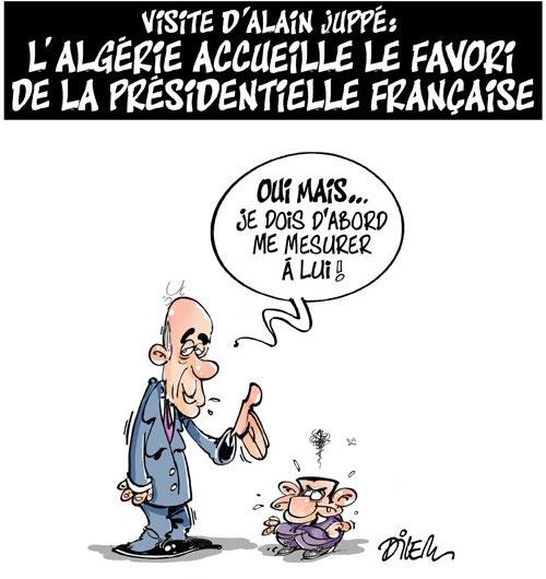 Visite d'Alain Juppé: L'Algérie accueille le favori de la présidentielle française