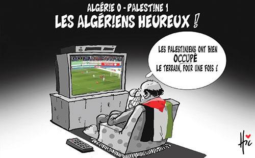 Algérie 0 - Palestine 1: Les Algériens heureux