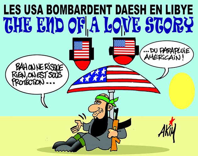 Les USA Bombardent daesh en Libye