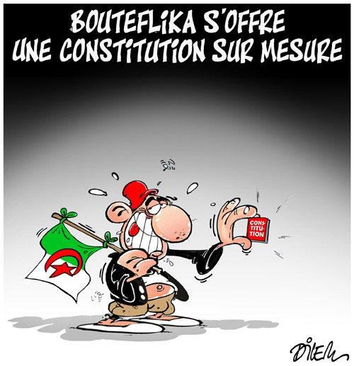 Bouteflika s'offre une constitution sur mesure