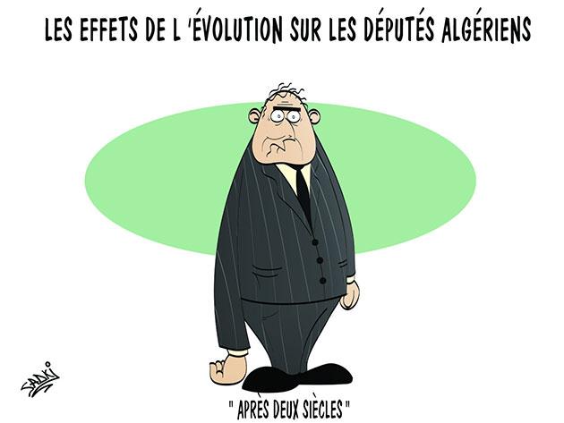 Les effets de l'évolution sur les députés algériens