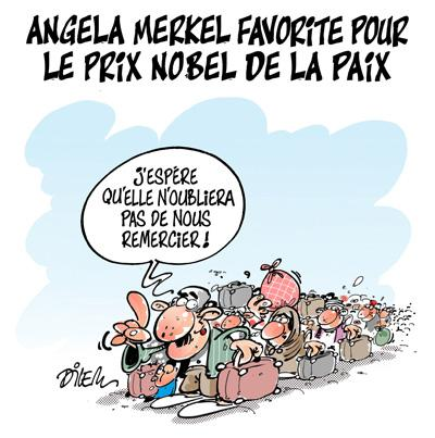 Caricature dilem TV5 du Mardi 06 octobre 2015