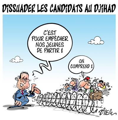 Caricature dilem TV5 du Mercredi 07 octobre 2015