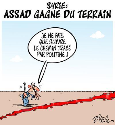 Syrie : Assad gagne du terrain