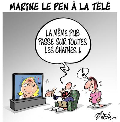 Caricature dilem TV5 du Vendredi 23 octobre 2015