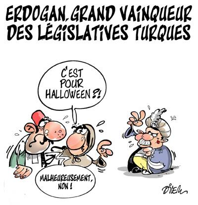 Caricature dilem TV5 du Lundi 02 novembre 2015