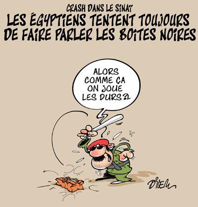 Caricature dilem TV5 du Vendredi 06 novembre 2015