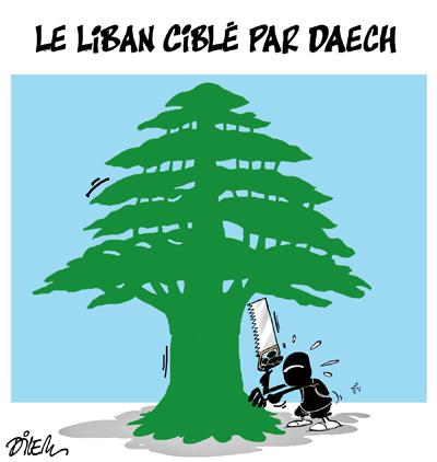 Caricature dilem TV5 du Samedi 14 novembre 2015